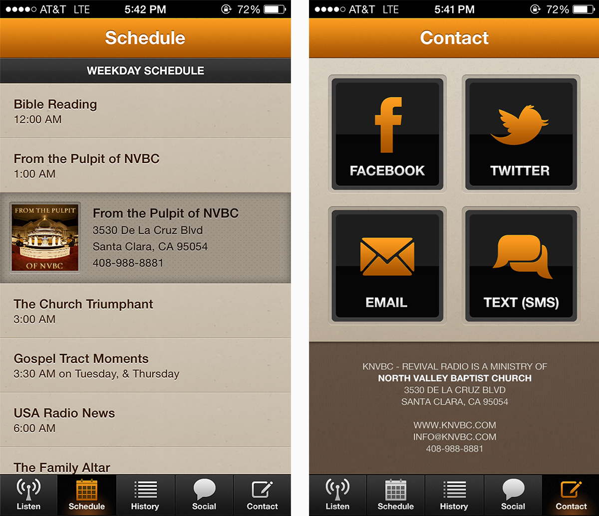 KNVBC iPhone App