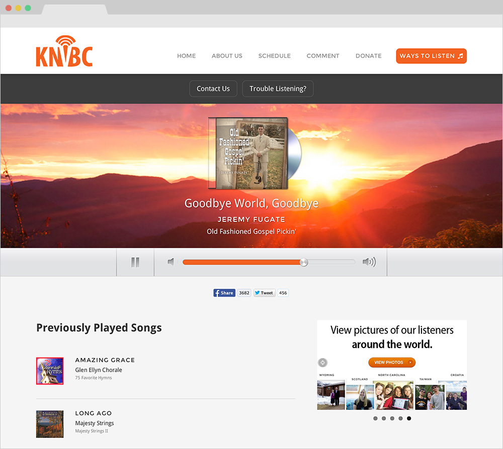 KNVBC Website