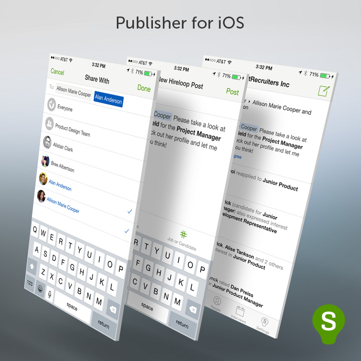 Publisher for iOS