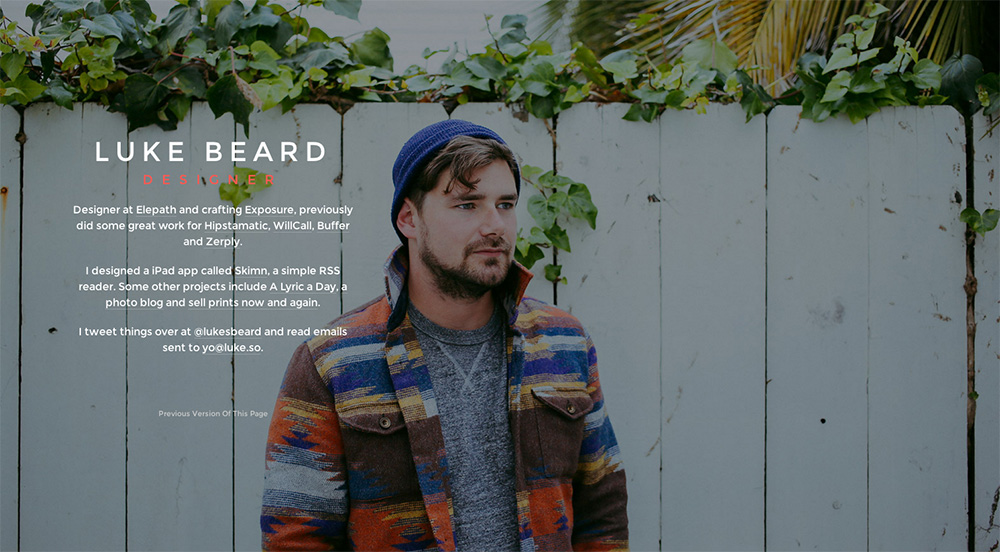 Luke Beards Website